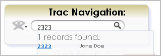 Trac Navigation with Student ID